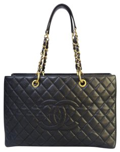 Chanel Grand Shopping Tote Xl Caviar Shoulder Bag