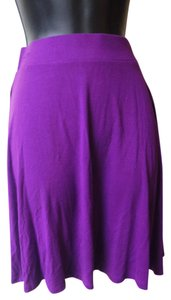 New York & Company Skirt purple