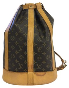 Louis Vuitton Lv Randonnee Pm Monogram Canvas Backpack