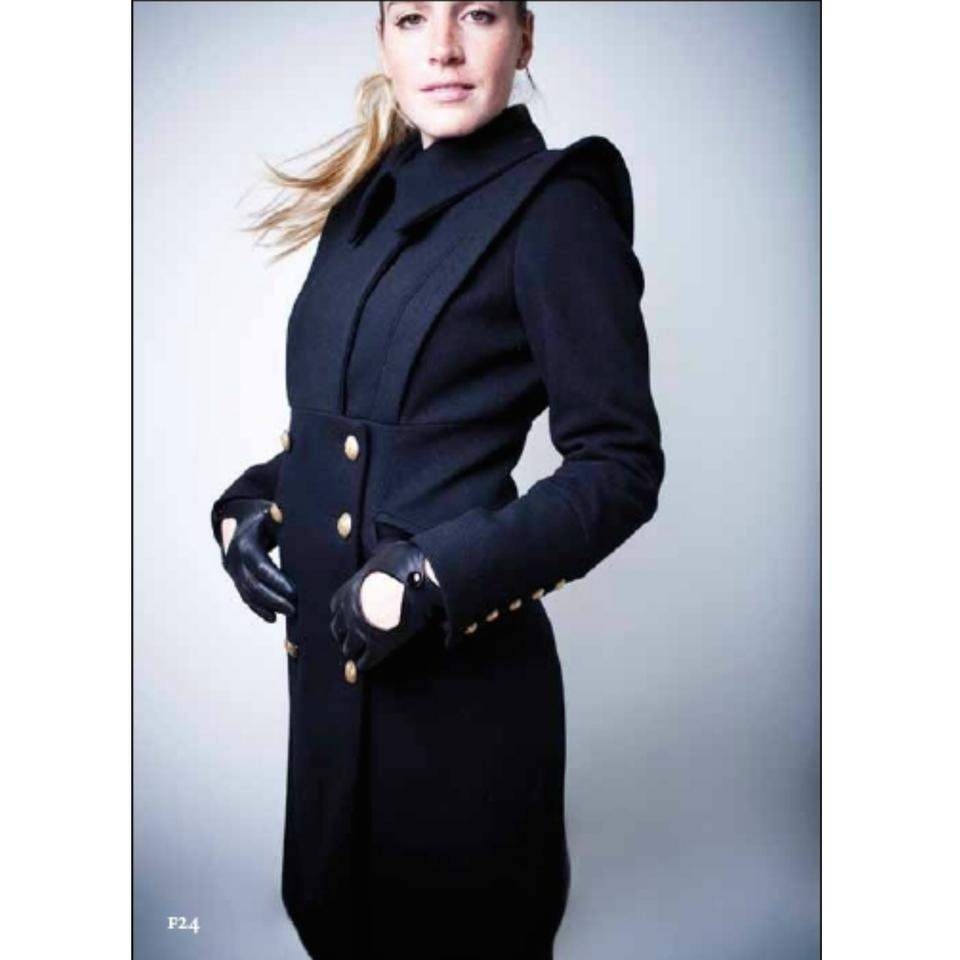 Smythe Long Double-breasted Military Pea Coat - 45% Off Retail
