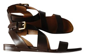 Other Soft Casual Glitter Brown - Gold Sandals