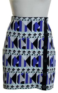 Rachel Roy Mini Skirt blue