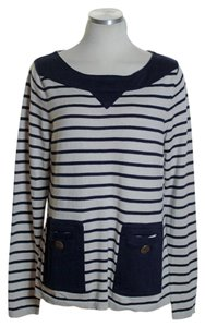 Anthropologie Long Sleeve Striped Sweater