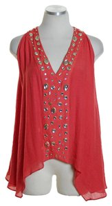 T-Bags Los Angeles Sleeveless Rhinestone Tunic