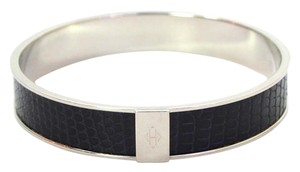 Hermès Hermes Black Kawaii 12 Lizard Bangle