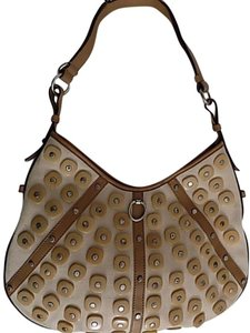 Saint Laurent Ysl Studded Hobo Bag
