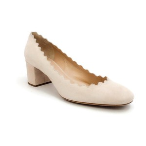 Chlo Scalloped nude Pumps