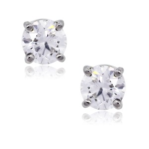 Tiffany & Co. Tiffany & Co. Platinum 1.01ctw Diamond Stud Earrings