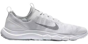 Nike Spikeless Golf Sneakers Womens Fi Berumda White Gray Athletic