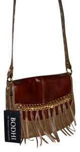 Bodhi New Leather Fringe Cross Body Bag