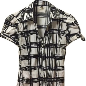 Express Top blk and white