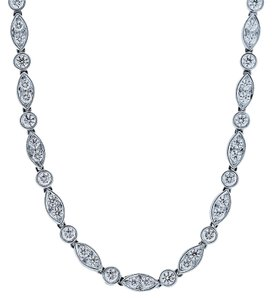 Tiffany & Co. Tiffany & Co. Swing Collection Platinum and Diamond 24 Necklace