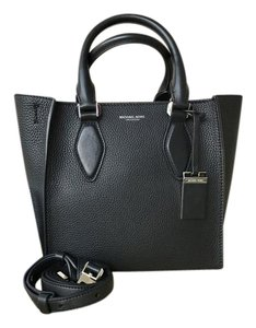 Michael Kors Collection Leather Gracie Tote in Black