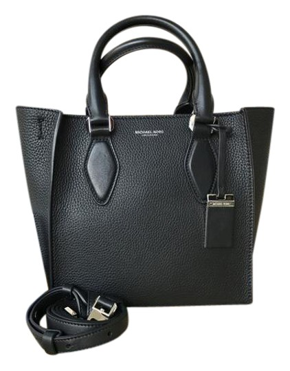 Michael Kors Collection Gracie Black Leather Tote