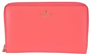 Kate Spade New Kate Spade Grand Street Leather Zip Around Travel Organizer Wallet