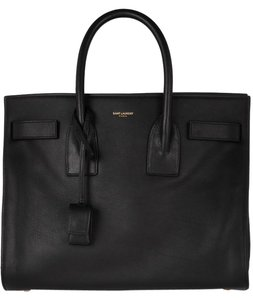 Saint Laurent Ysl Sac De Jour Small Tote in black