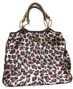 Tory Burch Nylon Tote in Leopard