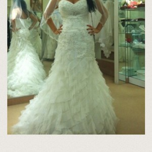 Demetrios Beading And Lace Wedding Dress Never Worn Wedding Dress