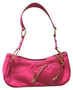 Juicy Couture Leather Mirror Shoulder Bag