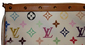 Louis Vuitton Multicolor Pochette Studded Cross Body Bag