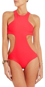 MIKOH MIKOH OSAKA CUTOUT SPORTY RACERBACK ONE PIECE SWIMSUIT SZ L