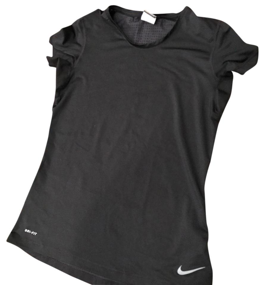 f18531f15ae98 Nike Black Dry Fit Activewear Top Size 8 (M) - Tradesy