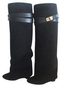 Givenchy Shark Lock Iconic black Boots