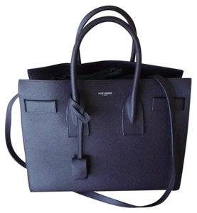Saint Laurent Sac De Jour Tote in Purple