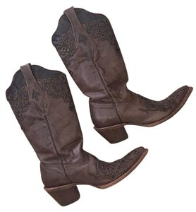 Corral Boots Leather Brown Boots