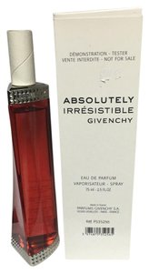 Givenchy ABSOLUTELY IRRESISTIBLE by GIVENCHY 2.5OZ/75ML EDP SPRAY TESTER NEW.