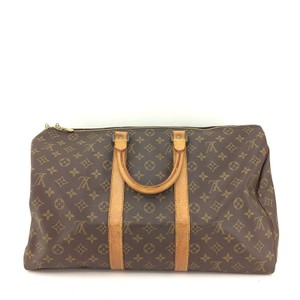 Louis Vuitton Weekender Travel Sac Souple Monogram Travel Bag