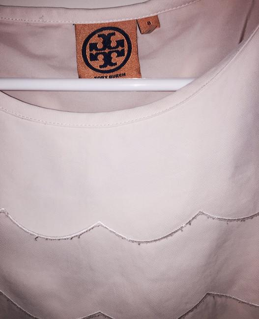 Tory Burch Ivory Sleeveless Medium Top White