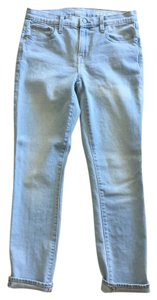 Gap Slouchy Drop Crotch Summer Spring Vacation Skinny Jeans-Light Wash