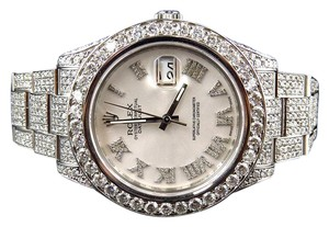 Rolex 41 MM Datejust II 2 Watch with 22.5 Ct Diamond and Roman Number Dial