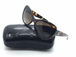 Chanel CHANEL C C Logo SUNGLASSES 5321 Tortoiseshell Cat Eye Lens