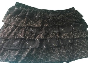 Old Navy Mini Skirt brown and green