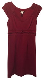 Max Studio short dress Dk. Red on Tradesy