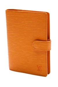Louis Vuitton Louis Vuitton Mandarine Epi Leather Small Ring Agenda Cover