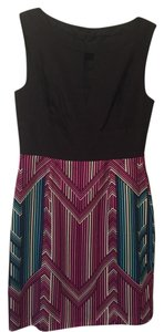 Trina Turk short dress black/ print on Tradesy
