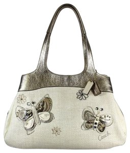 Coach Lexi Satchel Butterfly Limited Edition Shoulder Bag