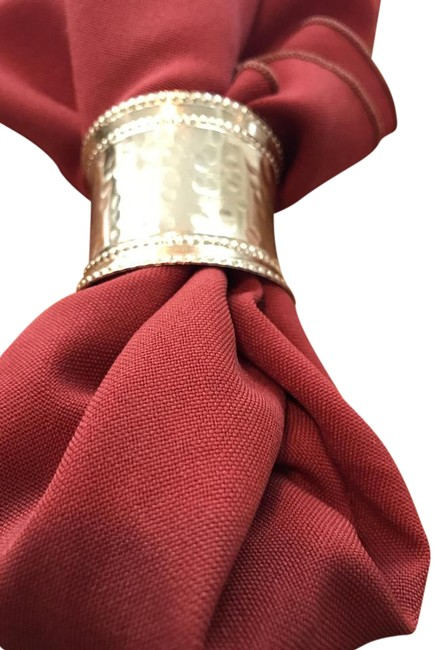 Item - Burnt Red/Rust Red/ Colored Napkins Tablecloth