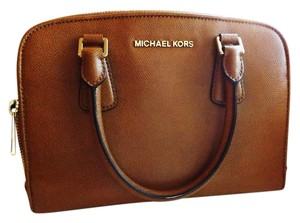 Michael Kors Classic Spring Kors Crossbody Satchel in Luggage