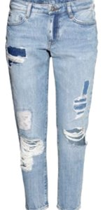 H&M Boyfriend Cut Jeans-Distressed