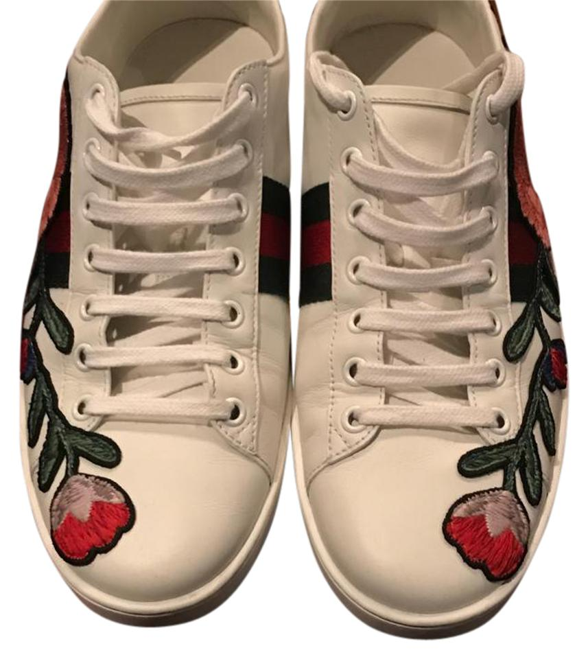 43a92b9adcd Gucci Multicolor Ace Embroidered Low Top Sneaker Sneakers Size US ...