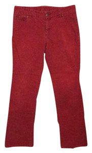 J.Crew Boot Cut Pants Firehouse Red