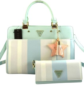 Guess Satchel in Mint Green