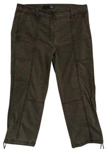 Eileen Fisher Capri/Cropped Pants Olive
