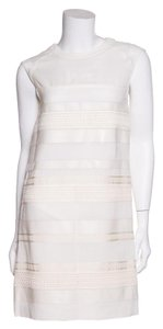 Belstaff short dress Cream on Tradesy