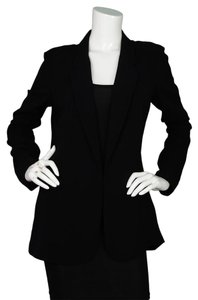 Joseph Open Long Black Blazer