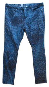 48015af9895 Mossimo Supply Co. Printed Abstract Denim Spring Summer Skinny Jeans